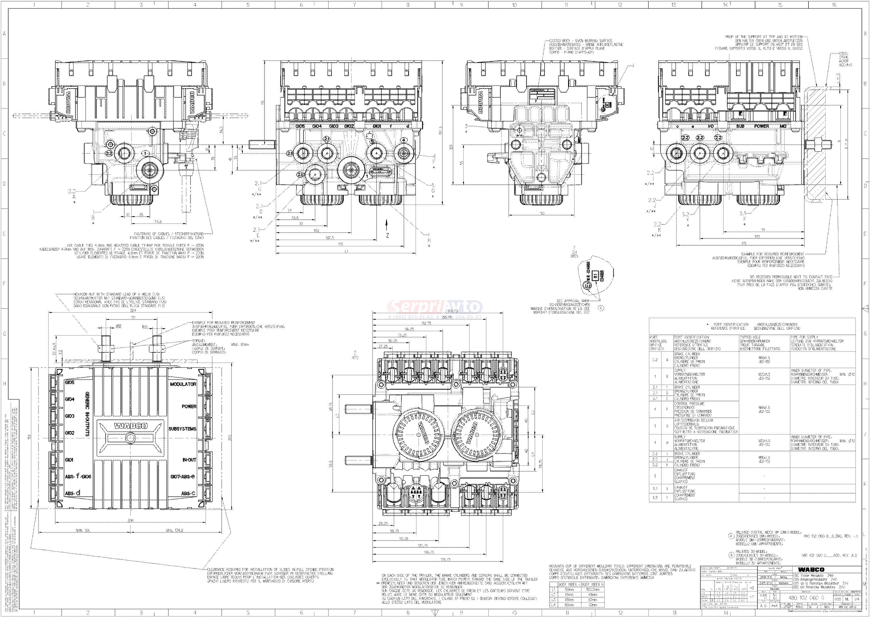 wabco схема подключения тормозной системы полуприцепа